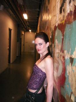"Leah backstage for VENUS @ the Brisbane Powerhouse - ""Hats Off Bris Vegas"" - Brisbane"