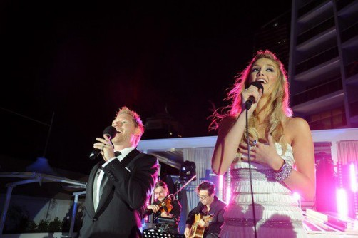 Solo Violin + Tenor with Delta Goodrem @ Hilton hotel - Gold Coast