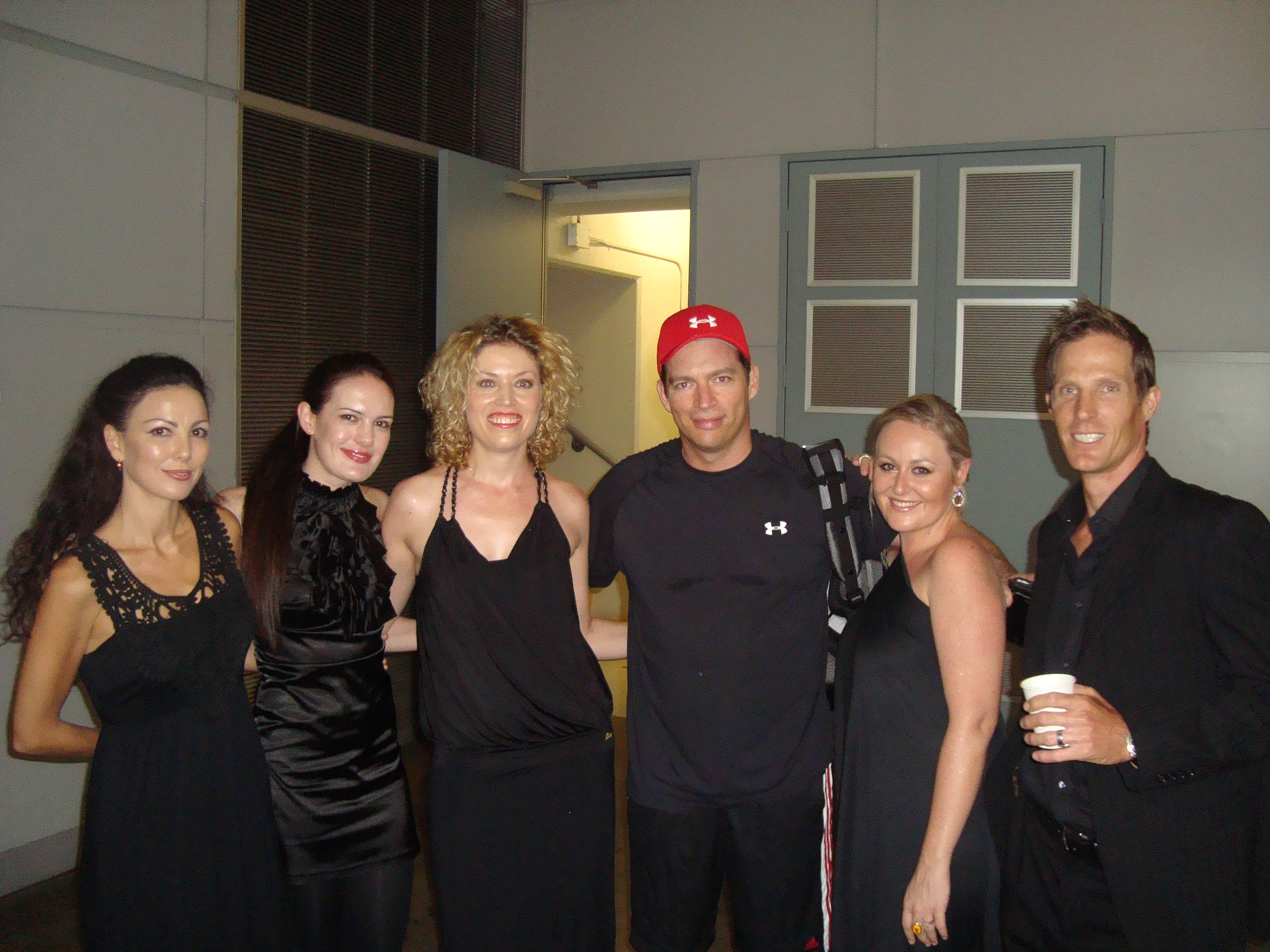On tour with Harry Connick Jr