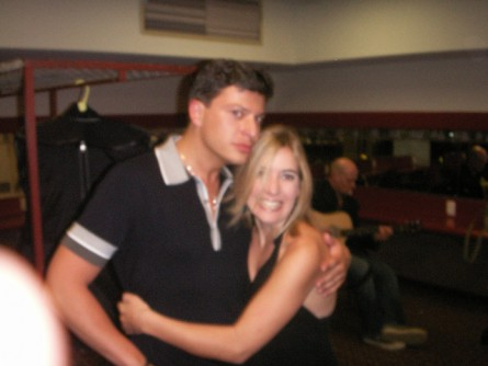 On tour with Patrizio Buanne