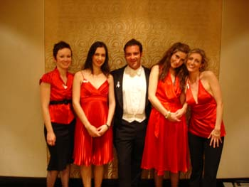 STRING SIRENS with Andrew O'Keefe @ Women Against Violence dinner - Sydney