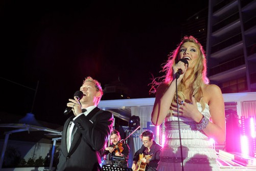 Tenor, Solo Violin with Delta Goodrem & MD Vince Pizzinga - Gold Coast Hilton
