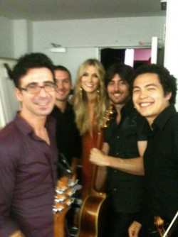 Solo Violin with Delta Goodrem, Vince Pizzinga and band - Sydney