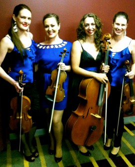 The String Sirens - RACV club Melbourne.