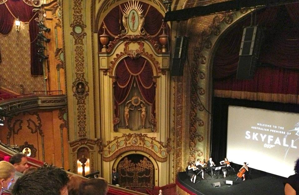 """The australian premiere of """"Skyfall"""" @ The State Theatre - Sydney"""