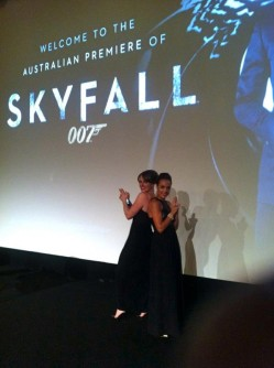 "The australian premiere of ""Skyfall"" @ The State Theatre - Sydney"