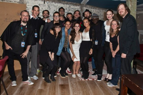 The whole touring company - Lana Del Rey tour @ The Enmore Theatre - Sydney