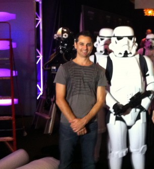 Launch of Star Wars: The Phantom Menace 3D re-release - Sydney