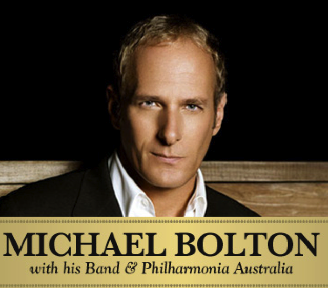 Promo for Michael Bolton @ Sydney Opera House