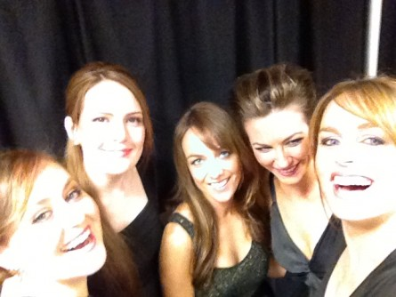 The String Sirens backstage for The Voice Australia @ Fox Studios - Sydney