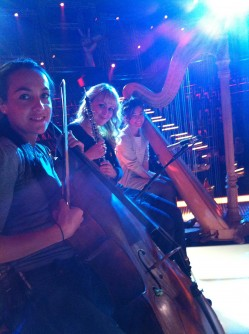 In rehearsal for The Voice Australia @ Fox Studios - Sydney