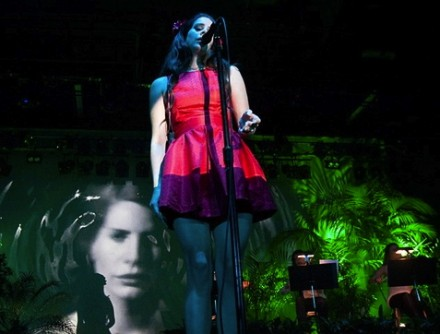 Onstage for Lana Del Rey - Palace Theatre, Melbourne.