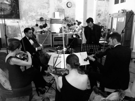 Live film clip recording with MAY - Melbourne