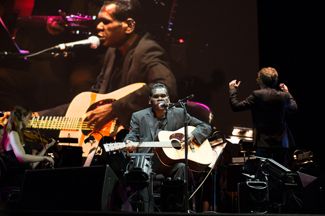 PHILHARMONIA AUSTRALIA performs with GURRUMUL for The Melbourne Festival