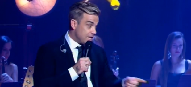 The STRING SIRENS perform with ROBBIE WILLIAMS - Sydney