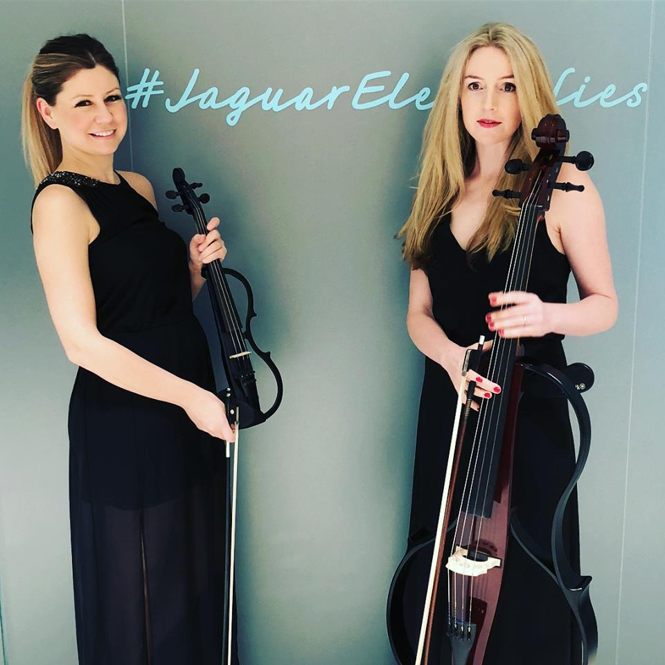 String Sirens duo for a car launch, Sydney.