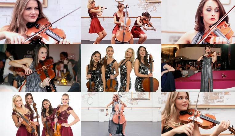 THE STRING SIRENS All female string team | String Source